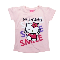 T-shirt Hello Kitty 128/134 różowy